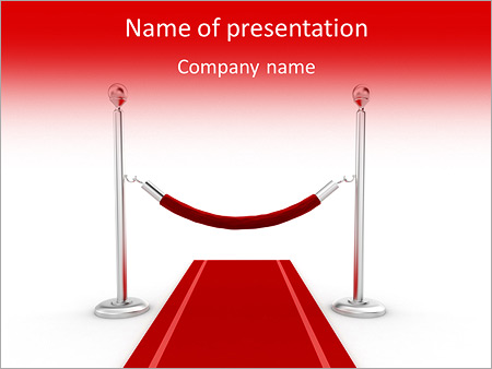 3d red carpet illustration powerpoint template backgrounds google