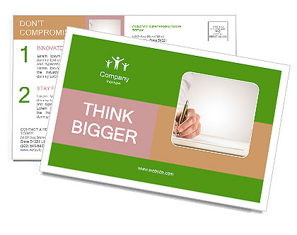 0000090002 Postcard Template