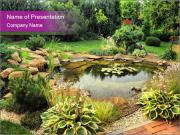 Landscape design PowerPoint Template