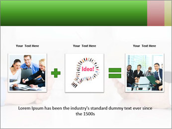 Interview. Close-up of two businesswoman around the table PowerPoint Template - Slide 22