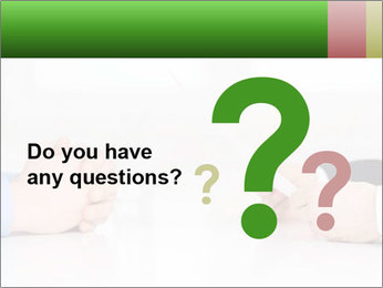 Interview. Close-up of two businesswoman around the table PowerPoint Template - Slide 96