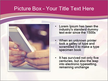 Teenagers With Phone PowerPoint Template - Slide 13
