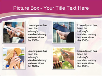Teenagers With Phone PowerPoint Template - Slide 14