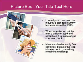 Teenagers With Phone PowerPoint Template - Slide 17