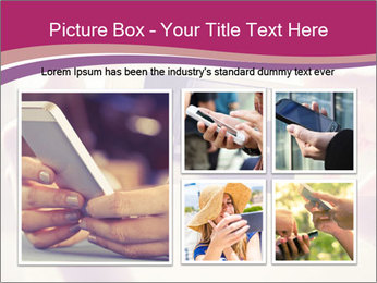 Teenagers With Phone PowerPoint Template - Slide 19