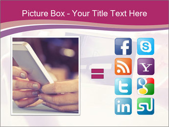 Teenagers With Phone PowerPoint Template - Slide 21