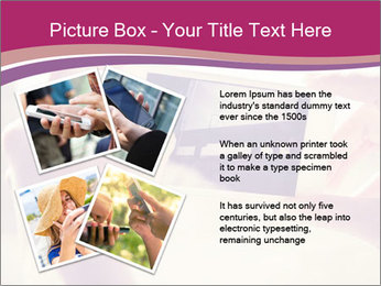 Teenagers With Phone PowerPoint Template - Slide 23