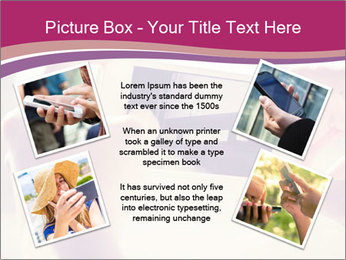 Teenagers With Phone PowerPoint Template - Slide 24