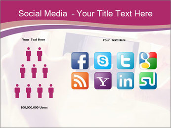 Teenagers With Phone PowerPoint Template - Slide 5