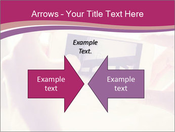 Teenagers With Phone PowerPoint Template - Slide 90