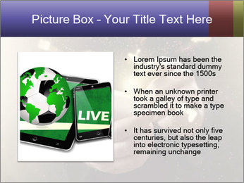 Gaming Icons Floating Around Smartphone PowerPoint Template - Slide 13