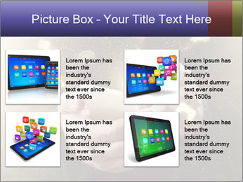 Gaming Icons Floating Around Smartphone PowerPoint Template - Slide 14