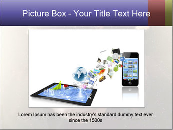 Gaming Icons Floating Around Smartphone PowerPoint Template - Slide 15