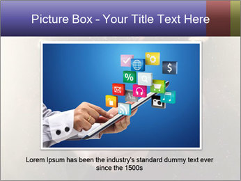 Gaming Icons Floating Around Smartphone PowerPoint Template - Slide 16