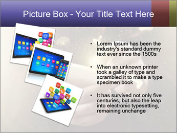 Gaming Icons Floating Around Smartphone PowerPoint Template - Slide 17
