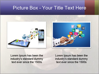 Gaming Icons Floating Around Smartphone PowerPoint Template - Slide 18