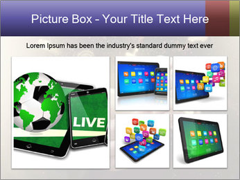 Gaming Icons Floating Around Smartphone PowerPoint Template - Slide 19