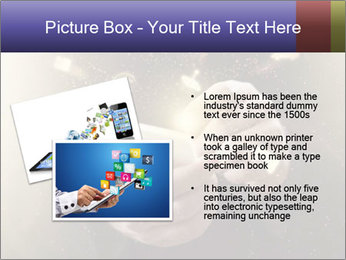 Gaming Icons Floating Around Smartphone PowerPoint Template - Slide 20