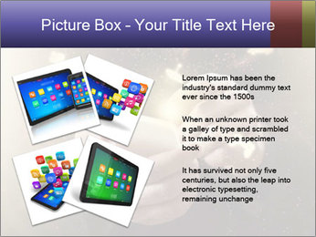 Gaming Icons Floating Around Smartphone PowerPoint Template - Slide 23