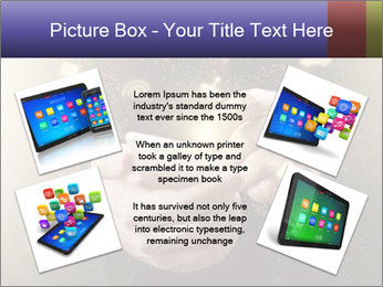 Gaming Icons Floating Around Smartphone PowerPoint Template - Slide 24