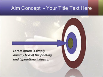Gaming Icons Floating Around Smartphone PowerPoint Template - Slide 83