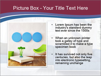 Man dancing on a blue couch PowerPoint Template - Slide 13