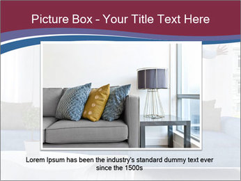 Man dancing on a blue couch PowerPoint Template - Slide 15