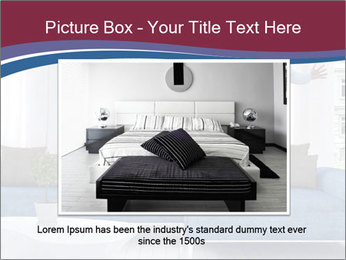 Man dancing on a blue couch PowerPoint Template - Slide 16