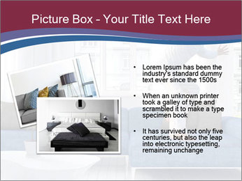 Man dancing on a blue couch PowerPoint Template - Slide 20