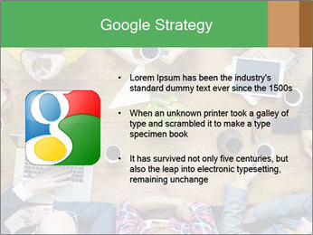 People with Startup Business Talking in a Cafe PowerPoint Template - Slide 10