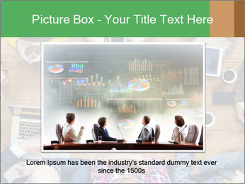 People with Startup Business Talking in a Cafe PowerPoint Template - Slide 16
