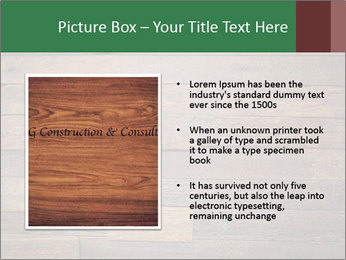 Old wooden background PowerPoint Template - Slide 13
