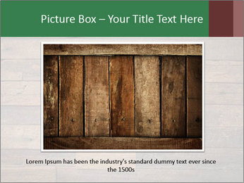 Old wooden background PowerPoint Template - Slide 15