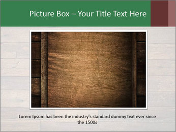 Old wooden background PowerPoint Template - Slide 16