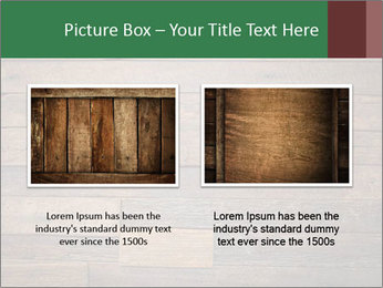 Old wooden background PowerPoint Template - Slide 18