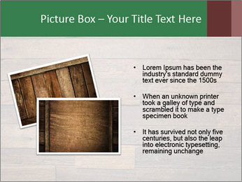 Old wooden background PowerPoint Template - Slide 20