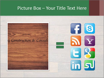 Old wooden background PowerPoint Template - Slide 21