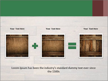 Old wooden background PowerPoint Template - Slide 22