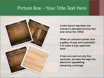Old wooden background PowerPoint Template - Slide 23