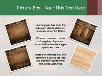 Old wooden background PowerPoint Template - Slide 24