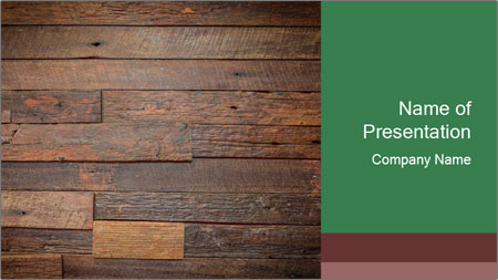 Old wooden background PowerPoint Template