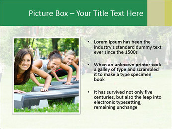 Summer Day In Park PowerPoint Template - Slide 13