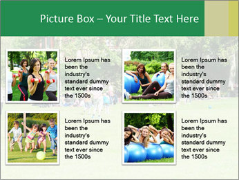 Summer Day In Park PowerPoint Template - Slide 14