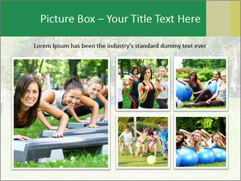 Summer Day In Park PowerPoint Template - Slide 19