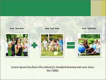 Summer Day In Park PowerPoint Template - Slide 22
