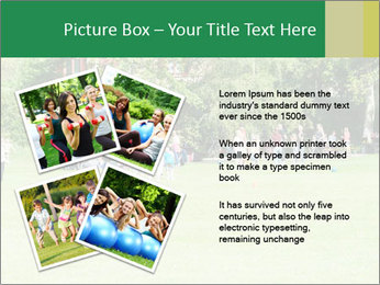 Summer Day In Park PowerPoint Template - Slide 23