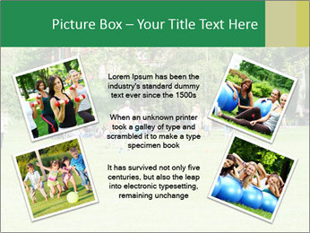 Summer Day In Park PowerPoint Template - Slide 24