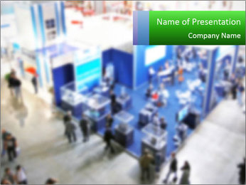 Tradeshow PowerPoint Template - Slide 1