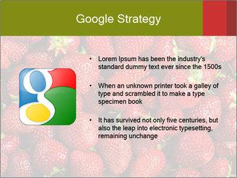 Sweet Strawberries PowerPoint Template - Slide 10