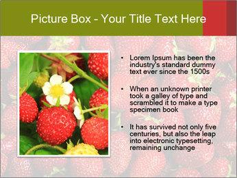 Sweet Strawberries PowerPoint Template - Slide 13